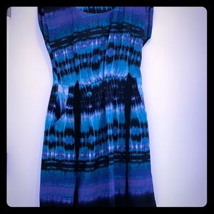 Mini dress with stunning colors